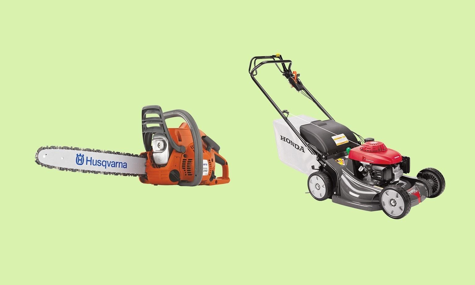 Outdoor Power Equipment Savings