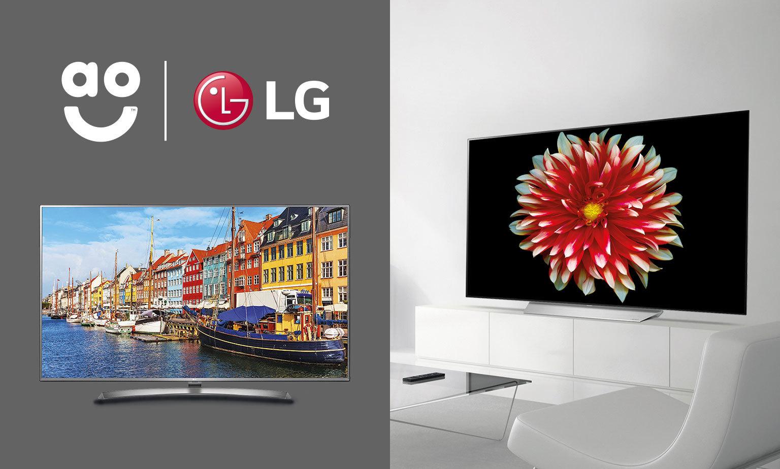 TV Angebote von AO und LG