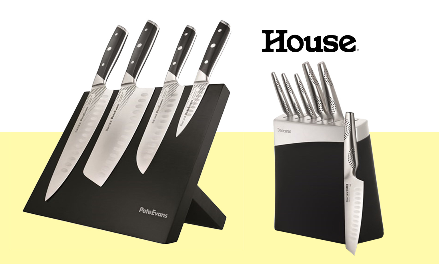 Up to 75% off* Knife Blocks