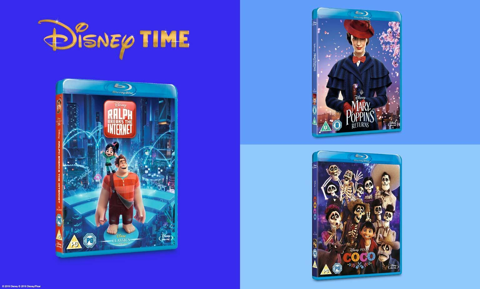 Disney Time 2 Blu-rays For £15