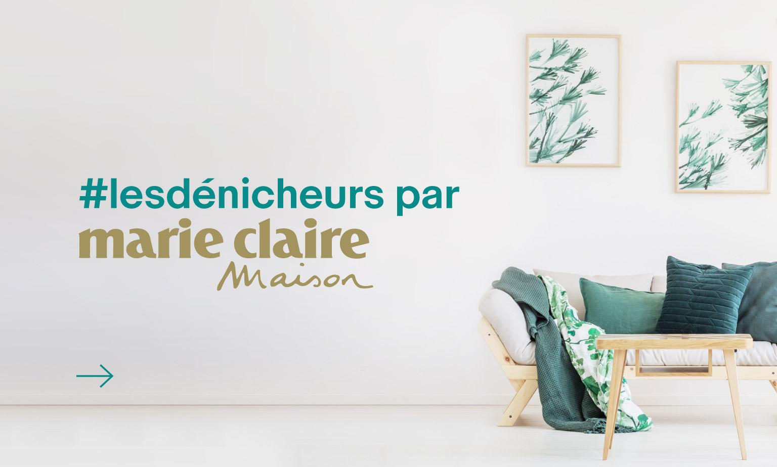#lesdénicheurs par Marie Claire