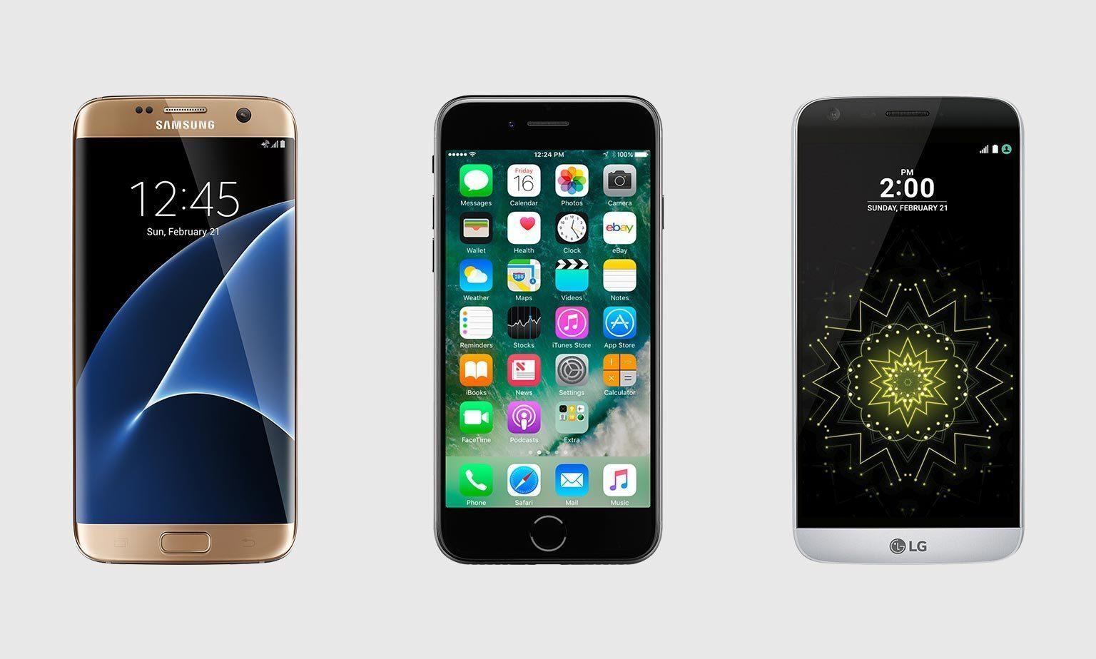Los smartphones más buscados