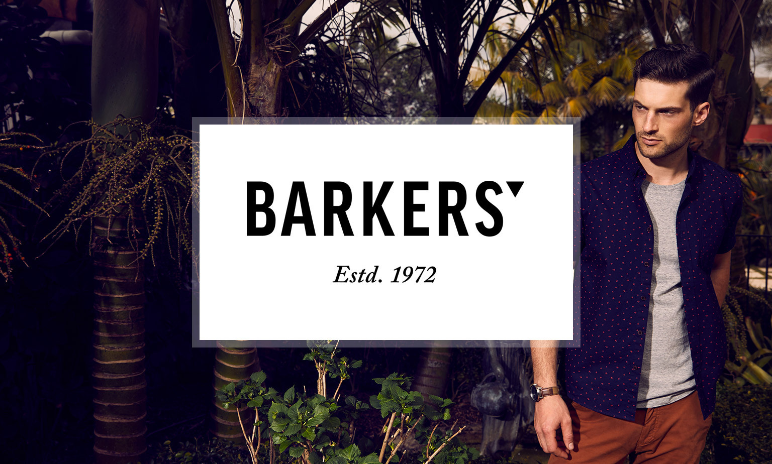 20% off storewide at Barkers.  Save on tees, polos & more plus free postage!
