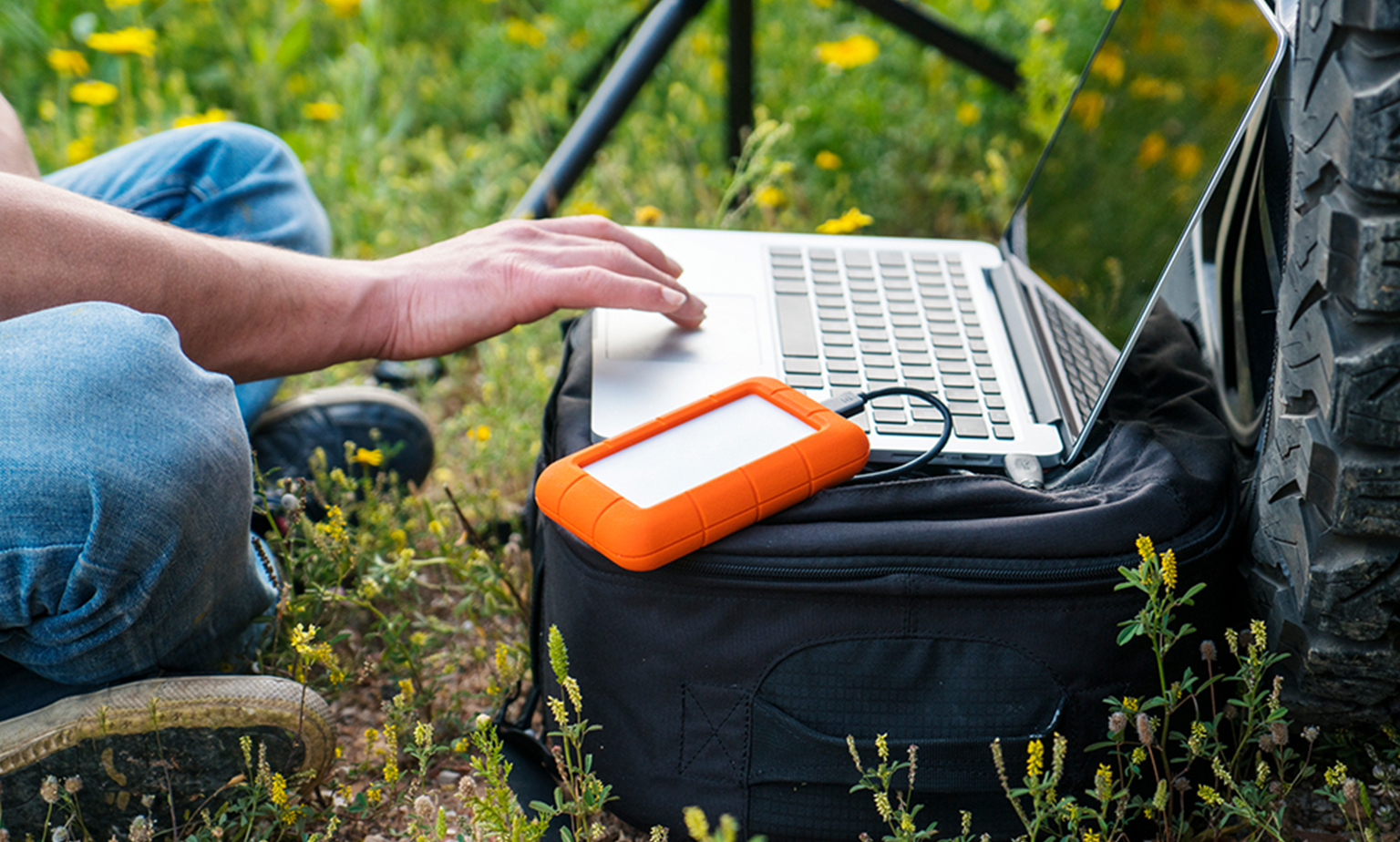 Portable Data Storage for Less