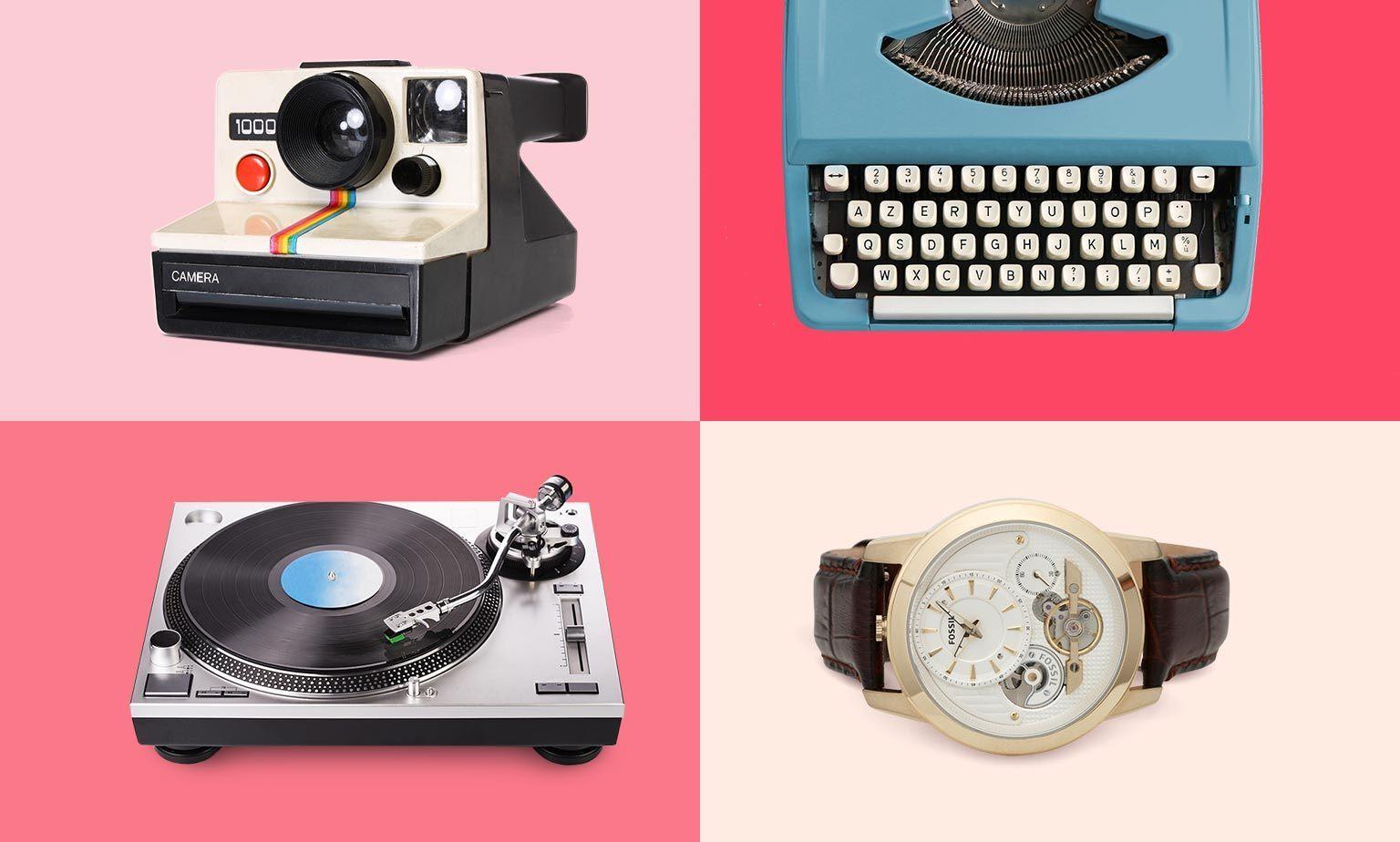 Einzigartige Retro & Vintage Geschenke