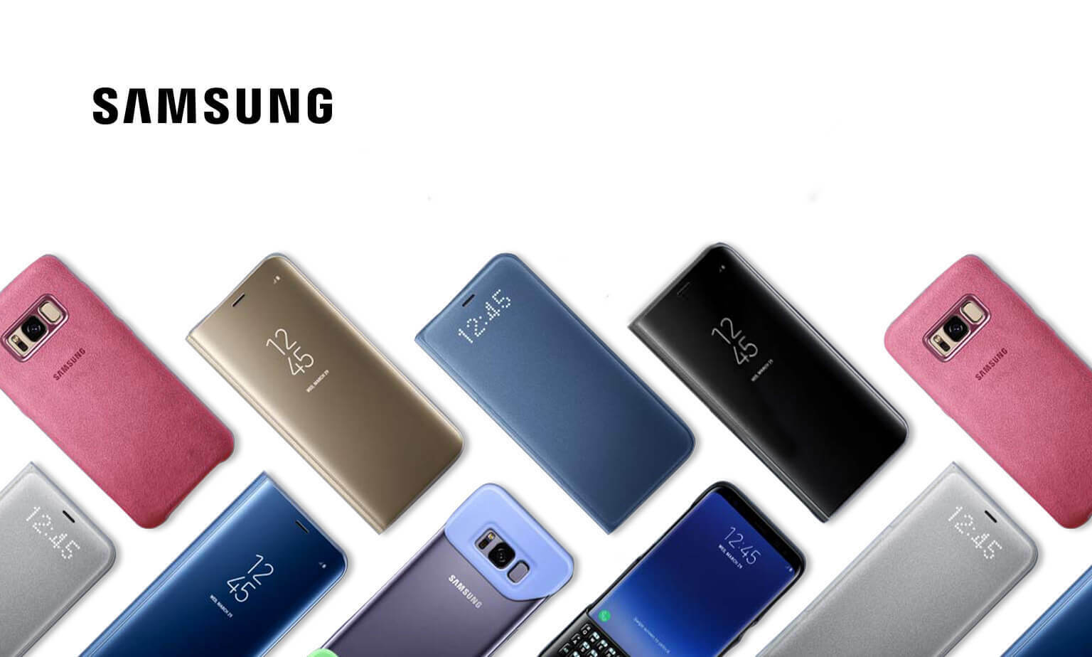 Genuine covers for your Galaxy S8|S8+