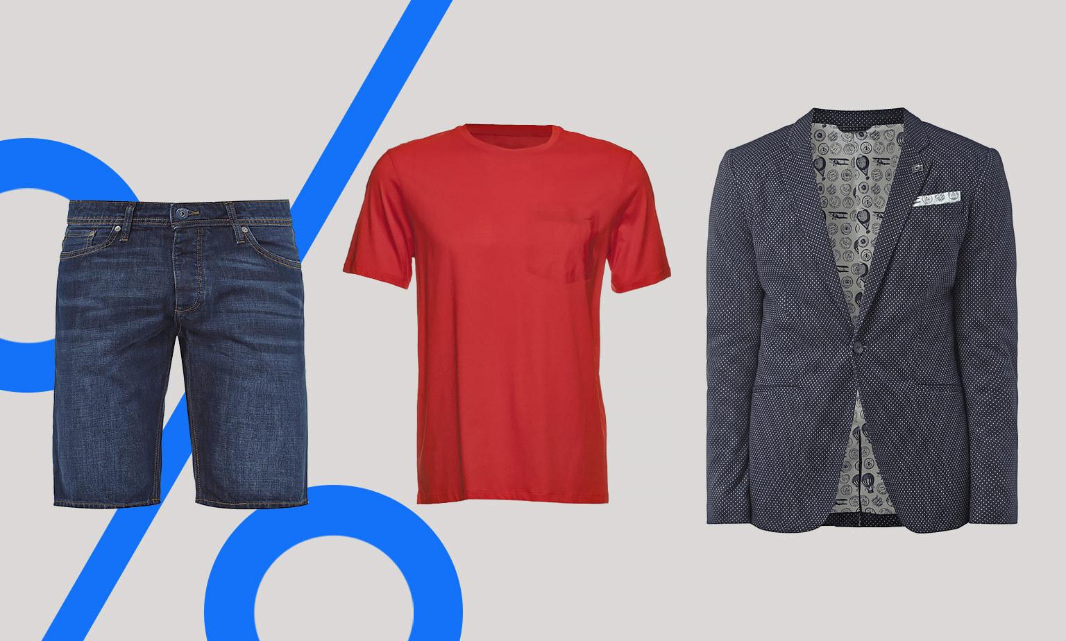 Mode für Herren im Outlet