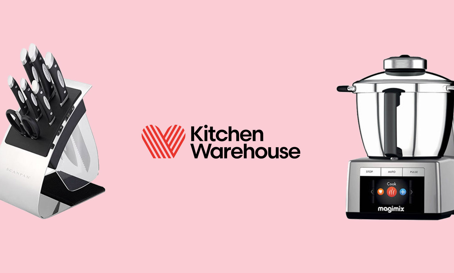 20% off Kitchen Warehouse*
