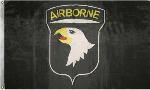 3x5 Airborne Black 101st Premium Quality Flag 3