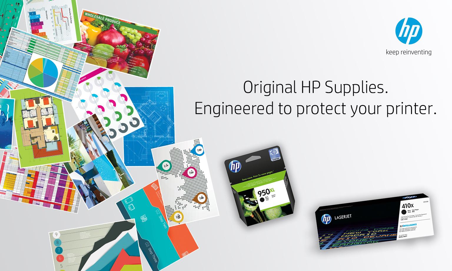 Original HP Supplies