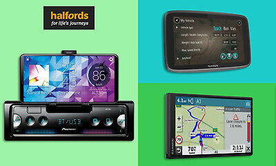 20% off In Car Tech from Halfords