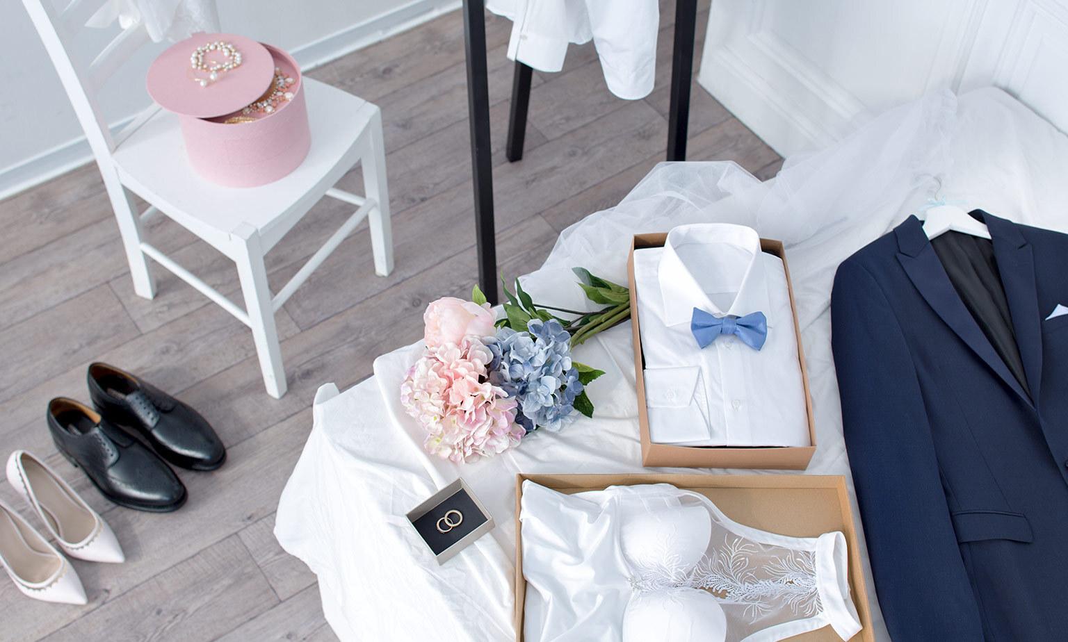Hochzeits-Outfits für Sie und Ihn