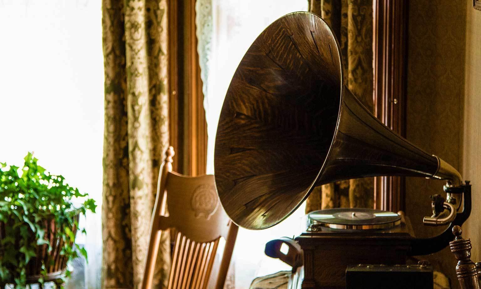 Gebrauchte Grammophone & Schellackplatten