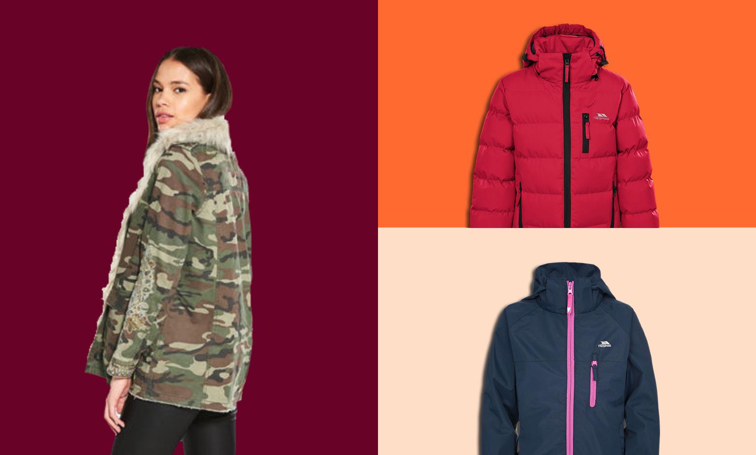 Coats & Jackets from £10