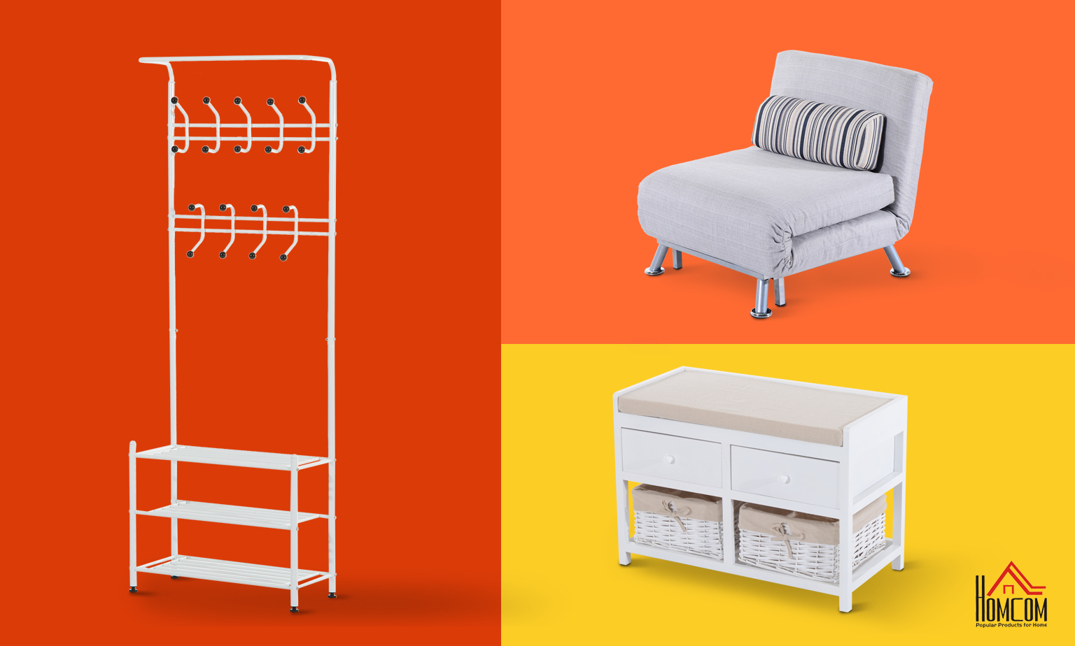 Save up to 60% on Furniture from Homcom