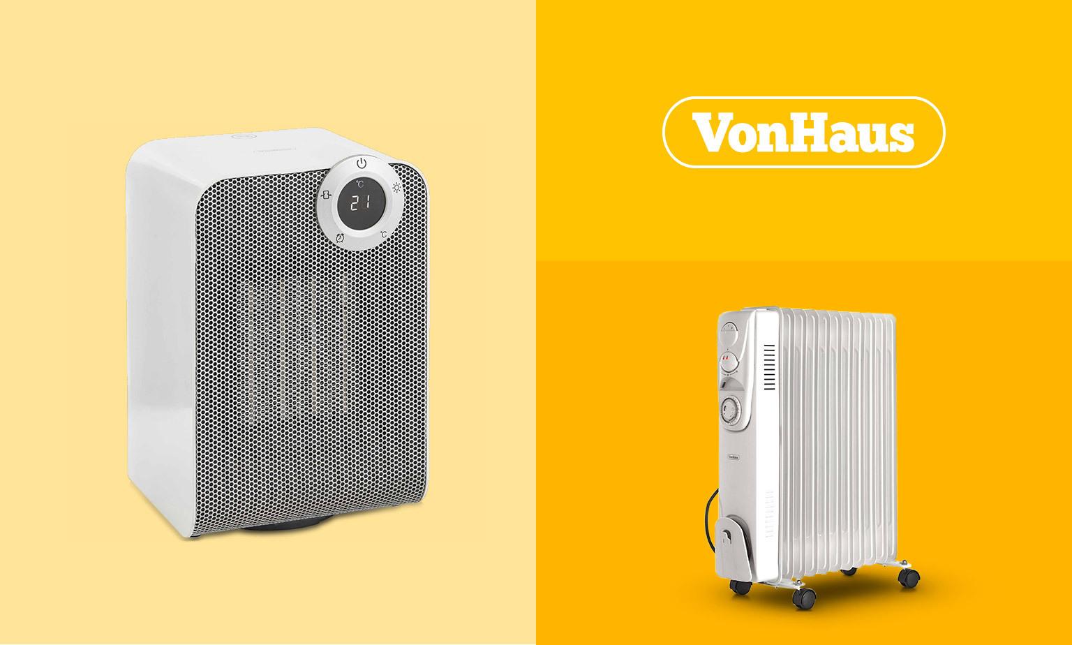 Save on VonHaus Heating!