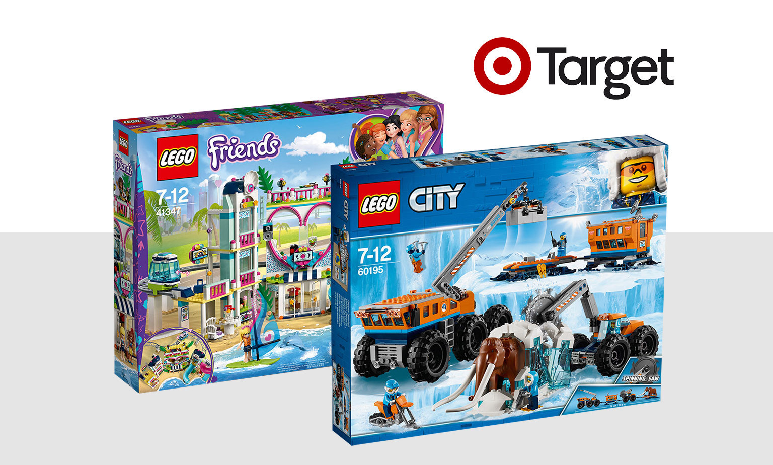 20% off* LEGO Friends and LEGO City Toys