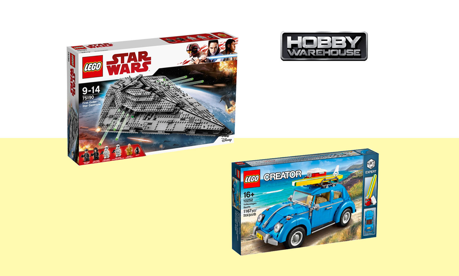 20% off LEGO at Hobby Warehouse*