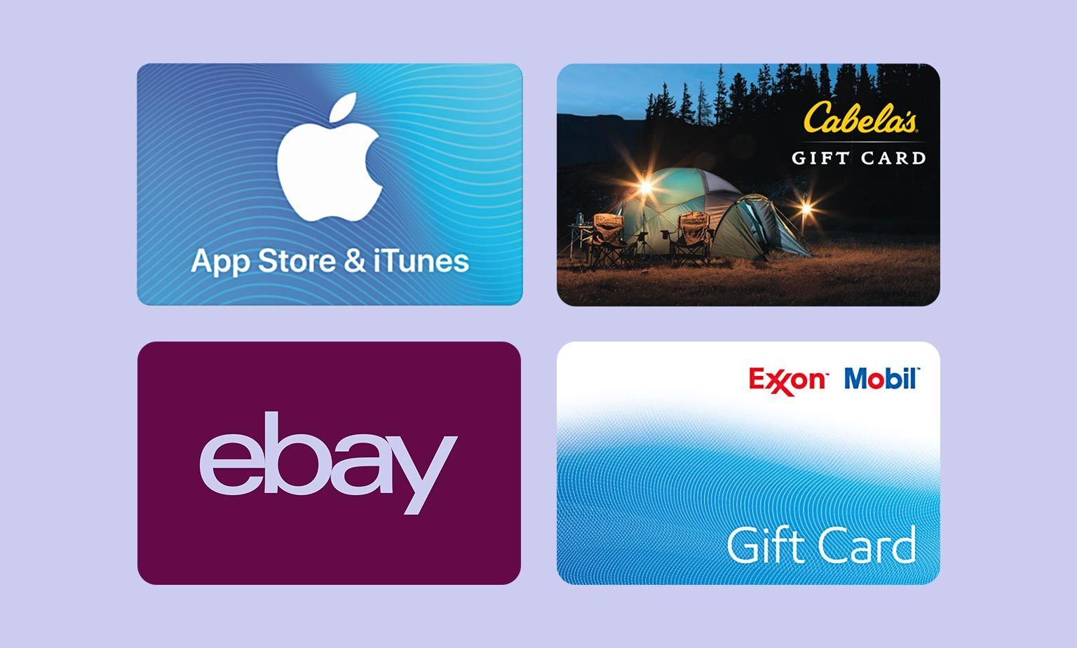 Top-Selling Gift Cards
