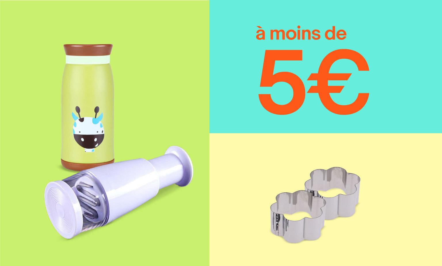Ustensiles de cuisine à moins de 5€