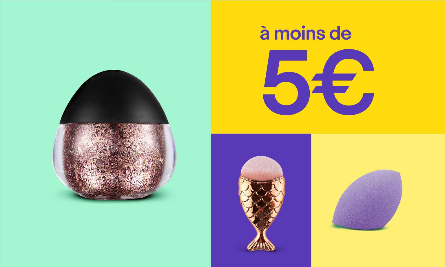Maquillage à moins de 5€