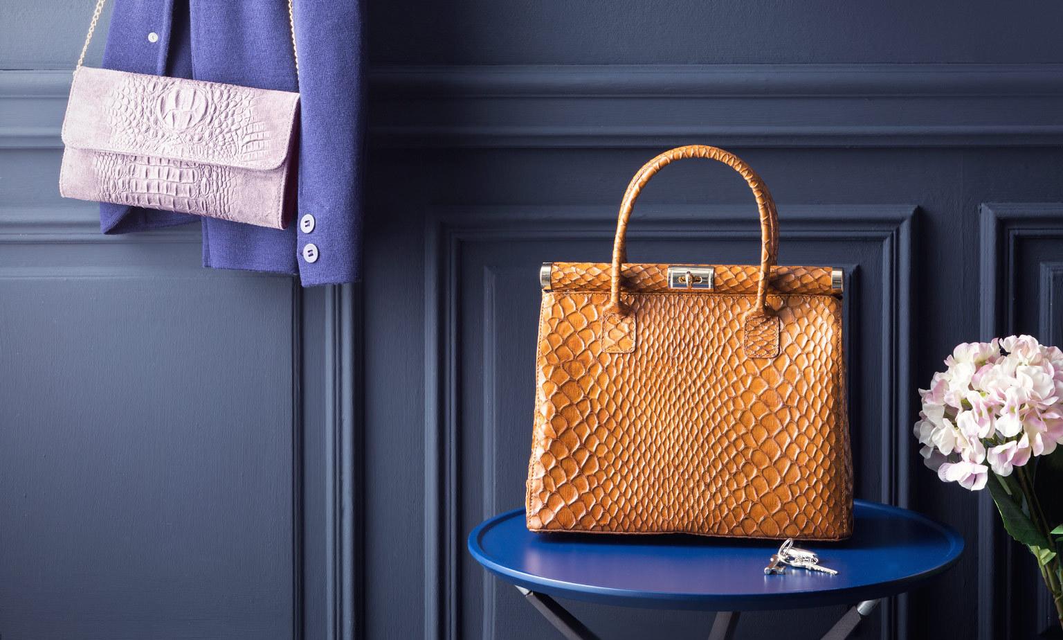Vintage-Handtaschen von Luxusmarken