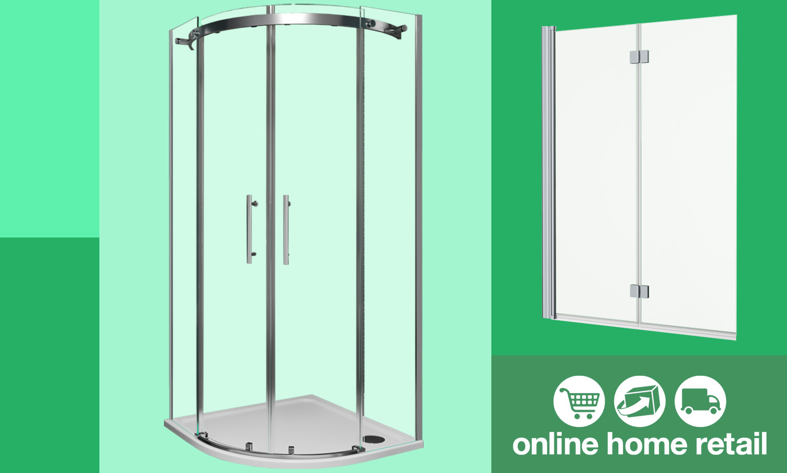 HUGE SALE on Shower Enclosures-Limited Time!