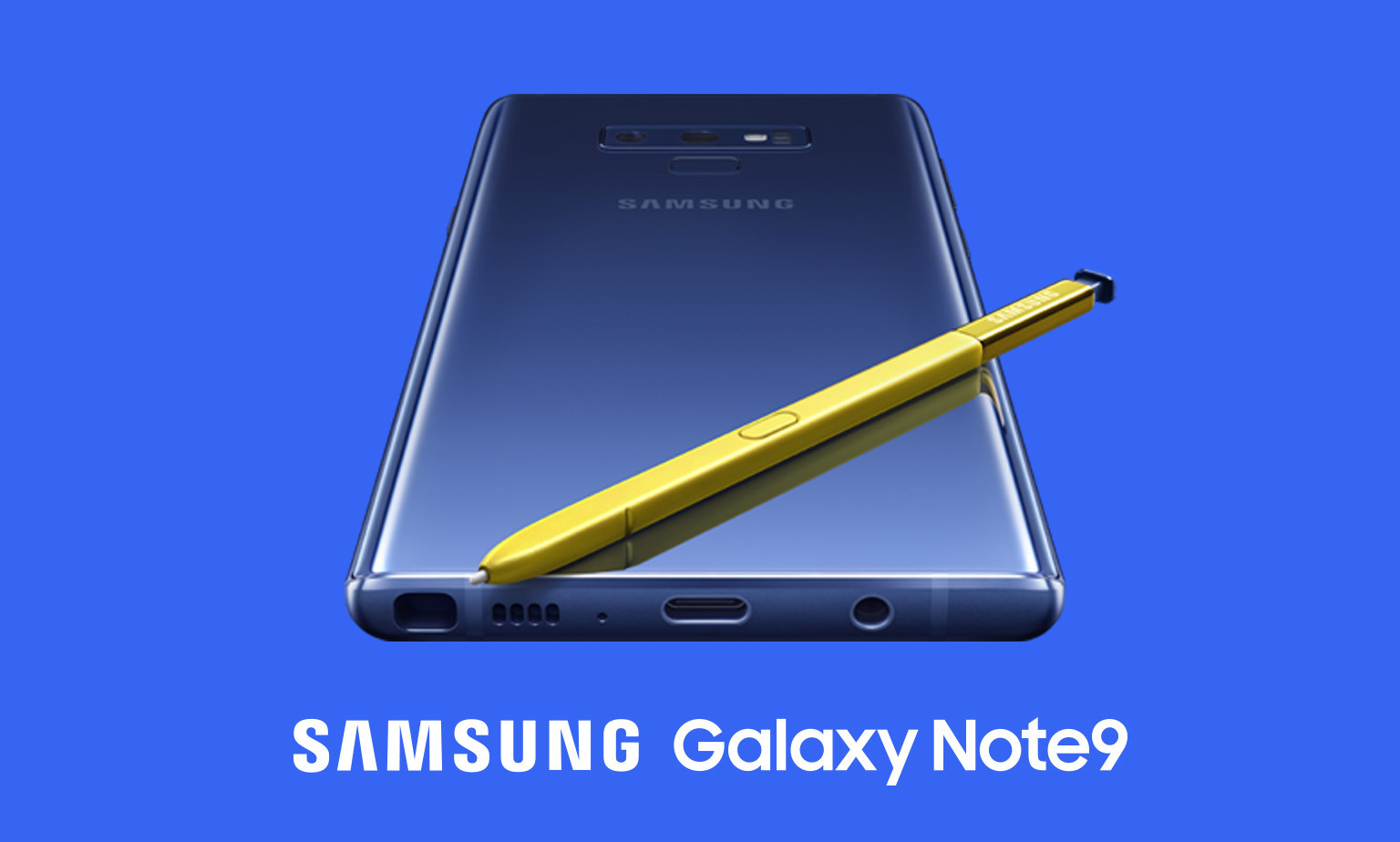 The new Samsung Galaxy Note 9 has arrived