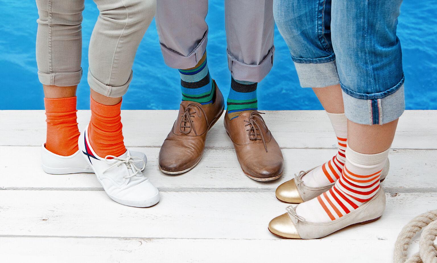 Socken-Vielfalt
