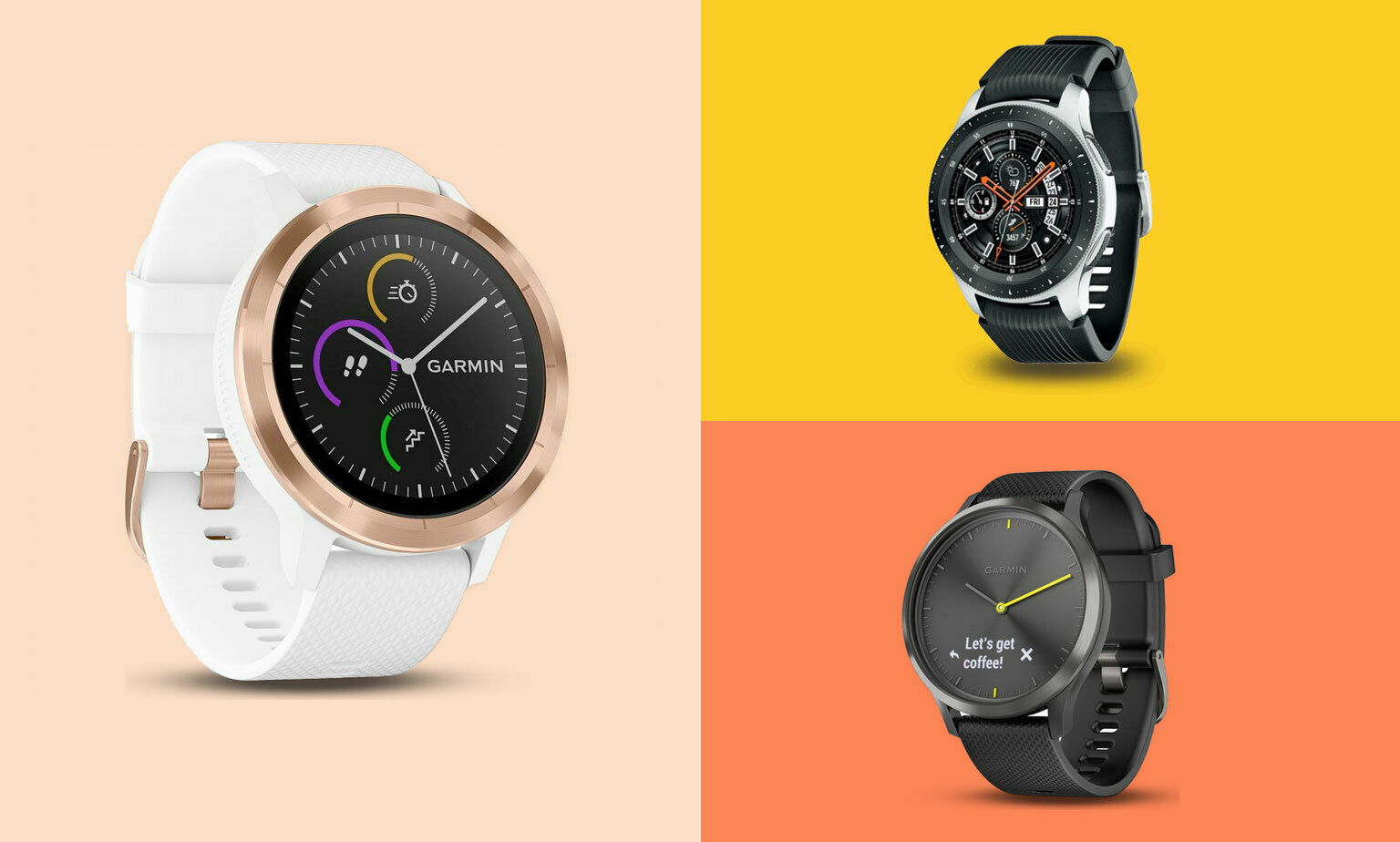 Android smart watches from £25