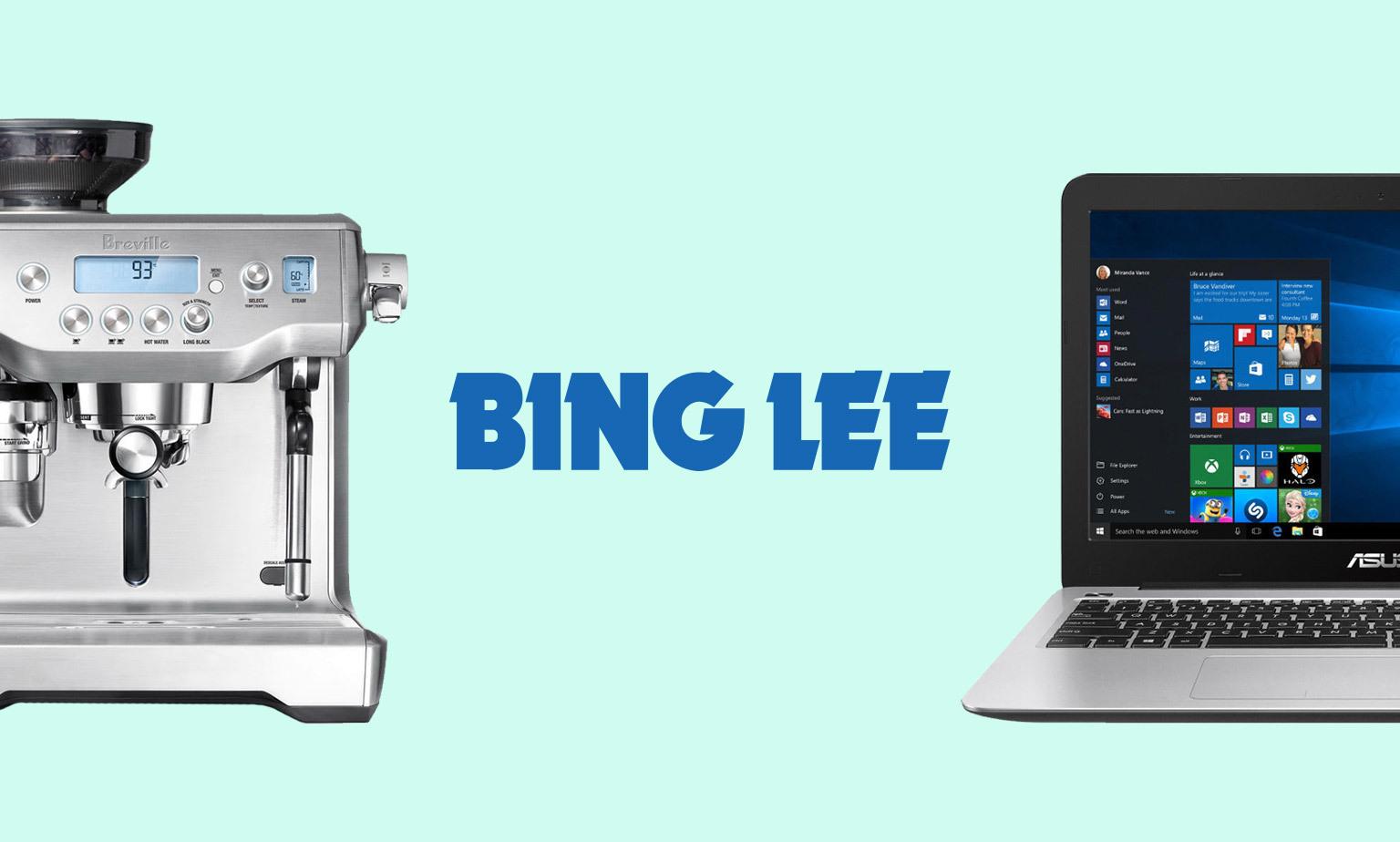 Low Prices at Bing Lee