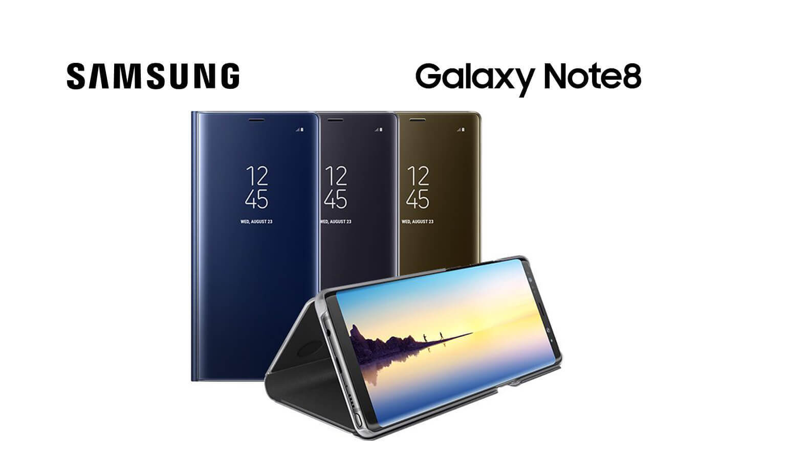 Genuine covers for your Galaxy Note8