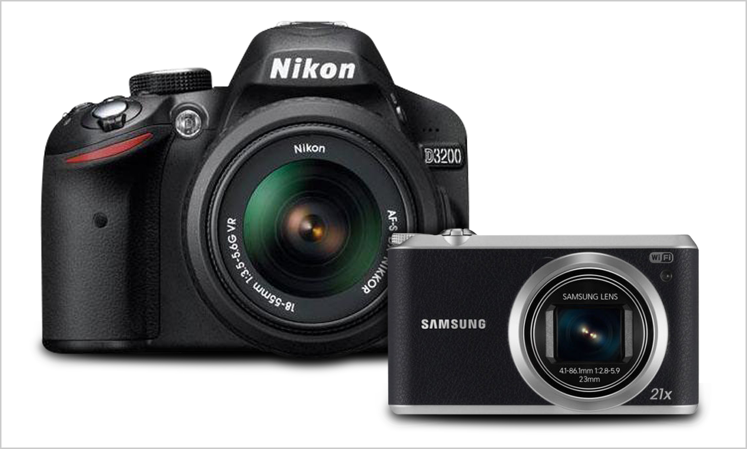 Refurbished Cameras Up to 50% Off