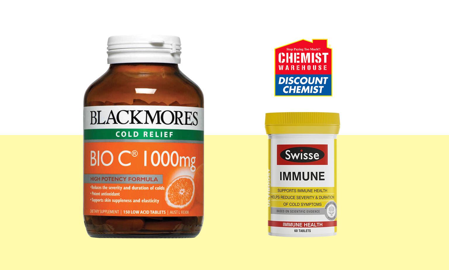 1/2 Price Vitamins & Cosmetics