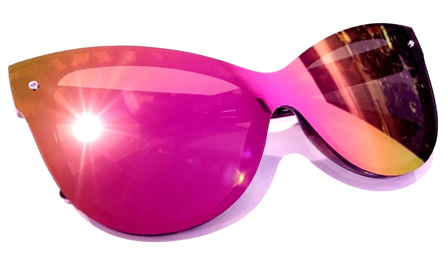 "Sunglasses ""BARBIE"" Princess Cat Eye OVERSIZED Mirror Women LIM Gafas SHADZ"