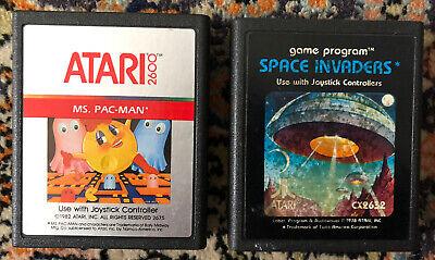 SPACE INVADERS - MS. PAC-MAN x ATARI 2600