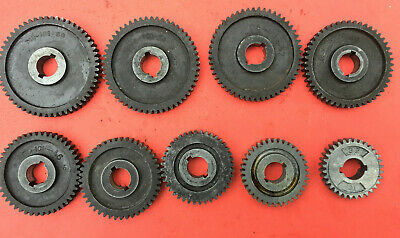 Atlas Craftsman 6 618 Metal Lathe Change Gears