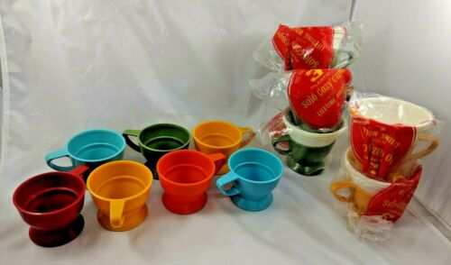 Vintage Solo Cozy Cups Lot Loose Sealed
