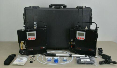 Set of 2 Photovac DataFID Portable Flame Ionization Detector w/ Power Supply