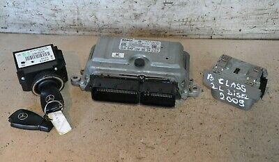 Mercedes B Class ECU Set A6401503634 W245 B200 CDi Auto Ignition Switch Set 2009