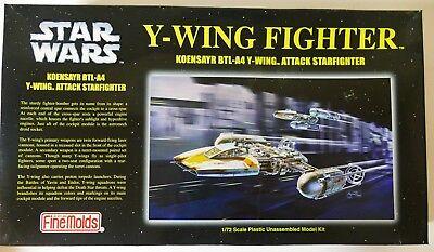 Star Wars Fine Molds 1/72 Y-Wing Fighter Model Kit SW8 BNIB from Japan