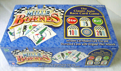 MILLE BORNES Collector''s Edition Classic Auto Race Card Game / Hasbro 1034