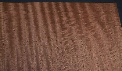 African Mahogany Raw Wood Veneer Sheets 17.5 X 45 Inches   8704-47