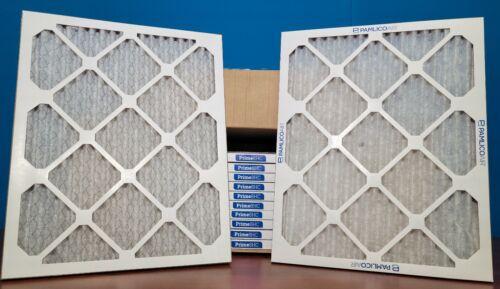 12 Pack 16x20x1 MERV 8 High Capacity Pleated AC Furnace Air Filter HVAC