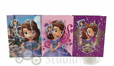 Disney Sofia the First Party Favor Supplies Paper Goody Loot Gift Bags [6ct] (Sofia The First Favor Bags)