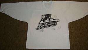 4-Autographs-EVERBLADES-HOCKEY-Signed-JERSEY-Autos-ECHL-Florida-6-Minor-League