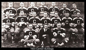 1923-Canton-Ohio-Pro-Football-Team-photo-BULLDOGS-17-x10-Giclee-Print-SPORTS