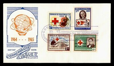DR WHO 1964 GUATEMALA FDC NEW YORK WORLD'S FAIR OVERPRINT  C244382