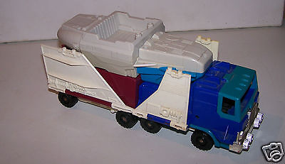 @$ JOUET CAMION TRANSFORMABLE AVION, NAVETTE, HASBRO 1990