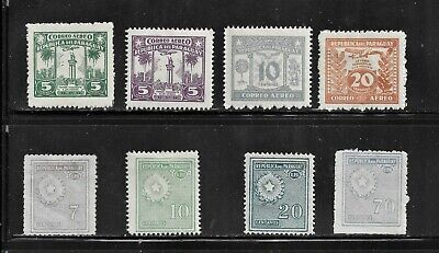 HICK GIRL- MINT PARAGUAY STAMPS     VARIOUS ISSUES       T261